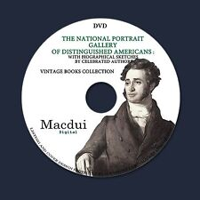 The national portrait gallery of distinguished Americans E-books 4 PDF on 1 DVD