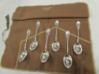 Rogers COLUMBUS 1895 6 Aesthetic high style coffee spoons
