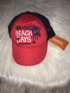 Nwt Gymboree Baseball Cap Hat Boys Size 2/3t