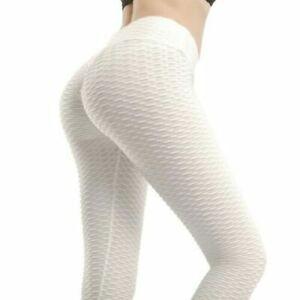 Women High Waist Yoga Pants Scrunch Booty Anti Cellulite Tiktok Leggings Butt