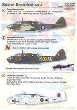 Print Scale Decals 1/48 BRISTOL BEAUFORT Mk.I British WWII Bomber Part 1