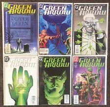 Green Arrow The Archers Quest #16,17,18,19,20,21 2002 DC Meltzer Set Lot nm
