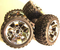 BS903-002 1/10 Scale Off Road Wheels / Tyres RC Nitro Truck Buggy x 4