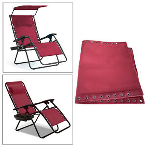 160x43cm Fabric Cloth Replacement for Backyard Patio Leisure Recliner Chairs