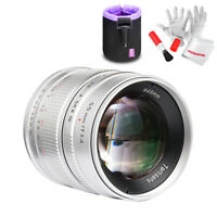 7artisans 55mm/F1.4 Large Aperture APS-C Manual Fixed Lens for M4/3 Mount+ Pouch