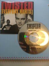 PROMO - SKUNK ANANSIE TWISTED CD SINGLE RADIO EDIT PROMO CARD P/S UK