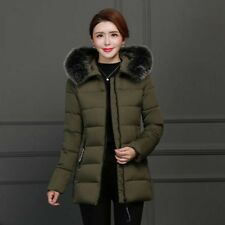 Winter Jacket Women Short Slim Hooded Coat Ladies Outdoor Warm Overcoat Parka