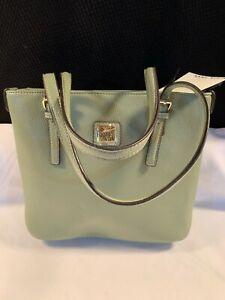 NWT Anne Klein Lt Olive Green Perfect Tote/Handbag