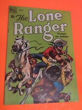 Lone Ranger #26 High Grade 1950 Dell Golden Age Western Comic Movie TV Guns