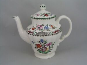 SPODE CHINESE ROSE LARGE COFFEE POT.