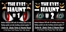 Animated Halloween Video Effect - The EYE'S HAUNT #1 & #2 DVD Haunted House Prop