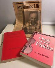 Mack Samples Dust On The Fiddle Doodle Bug Two Book Set Bonus News Release