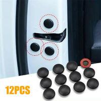12Pc Black Car Interior Accessories Door  Protect Lock Screw Protector Cover Cap