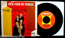 THE TYMES-Somewhere+View From My Window-Picture Sleeve & 45-PARKWAY #P 891-Top!