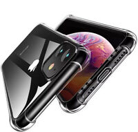 Coque Antichoc Silicone TPU Renforcé Pour iPhone 11 XR XS Max 2019 8 7 6s Plus