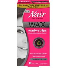 Nair Hair Remover Wax Ready Strips 40 ea (Pack of 9)