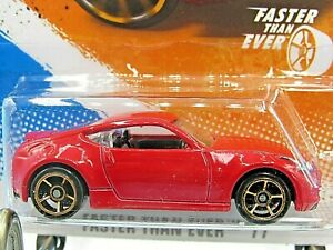 HOT WHEELS VHTF 2011 FASTER THAN EVER SERIES NISSAN 370Z