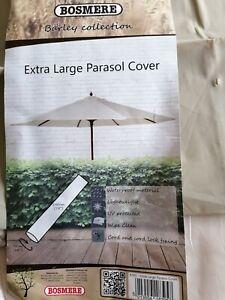Beige Larger Parasol Cover 1.90 long x 95cm wide