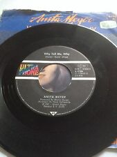 "ANITA MEYER 7"" WHY TELL ME / PLACES WHERE WE USED TO - ULTRAPHONE GERMAN ISSUE ?"