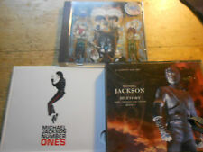 Michael Jackson [3 CD Alben] Number Ones + History + Dangerous