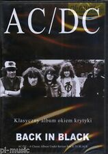=DVD AC/DC - BACK IN BLACK a classic album under review /POLISH EDITION/sealed
