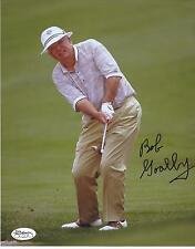 BOB GOALBY SIGNED PGA TOUR GOLF 8X10 PHOTO JSA