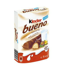 2 x Kinder Bueno (= 2 x 129g) **Made in Germany** **FREE SHIPPING**