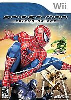 Spider-Man: Friend or Foe - Nintendo Wii Game - Complete & Tested