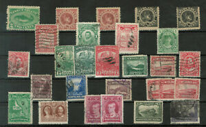 Newfoundland Selection of 28 Stamps #3023