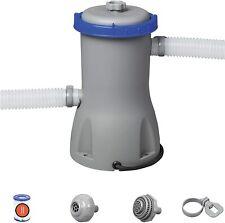 Bestway Flowclear Pompe de filtration 3.028 L/h Gris