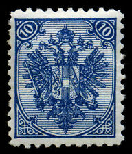 Bosnia & Herzegovina 1894 10n  Blue  SC# 7a. Type II.  MLH