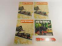 AS552-1# 4x Primex/Märklin H0 Katalog/Zeitschrift/Heft: 1988+1981, sehr gut