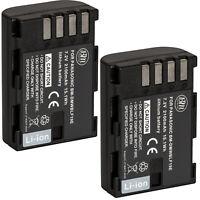 BM 2X DMW-BLF19, BLF19e Batteries for Lumix DC-G9 DMC-GH3 GH3K DMC-GH4 DC-GH5