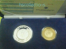 Malaysia IDB Silver Proof Coin Set of 2  2005 silver