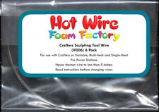 Hot Wire Foam Factory Replacement Crafters Sculpting Tool Wires - Set of 6