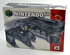Nintendo 64 Smoke Grey Console N64 Brand New in Original Box!