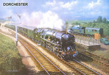 "Hornby Dublo in Railway Art ""Dorchester"" No. 2 Signed & Numbered."