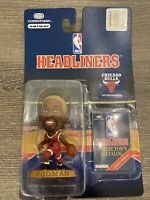1996 Dennis Rodman Chicago Bulls Corinthian Headliners NBA Basketball Blonde