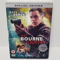 The Bourne Identity (DVD, 2004) Special Edition Matt Damon