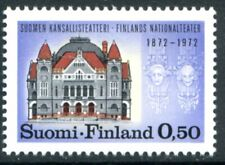 Finland Stamps Scott #514 Finnish National Theater 1972 Mlh