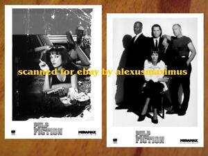 PULP FICTION rare PRESS PHOTO SET of 40 B&W Stills QUENTIN TARANTINO Travolta