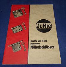 JuNie - Rechts und links brauchbare Möbelschlösser