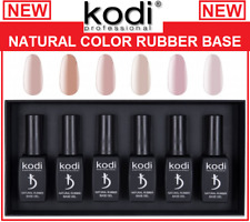 NEW! Kodi Natural Rubber Base 12ml. Camouflage / Color, Pink, Beige, Rose, Ivory
