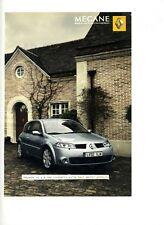 2004 : Voiture Automobile Renault Mégane (publicity, advertising)