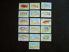 Stamps - Anguilla - Scott# 792-807