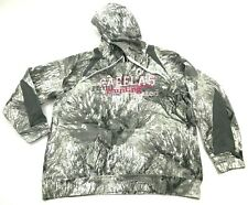 Cabela's Open Country Camouflage Hoodie Sweater Women's Extra Large 3D Seclusion