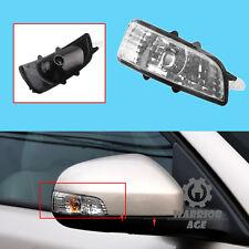 Right For Volvo C30 S40 S60 S80 V50 V70 Mirror Turn Signal Indicator Light Lens