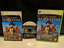 Civilization: Revolution *With Manual* (Xbox 360,2007)