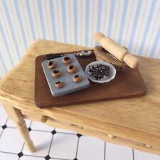1:12 scale Jam Tarte Cuisson Set, doll house FOOD/Pâtisserie/Cuisine/Gâteau/S/Tartelettes