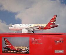 Herpa Wings 1 200 Airbus A319 CSA Czech Compagnie Aérienne Ok-nep Ville de Magic